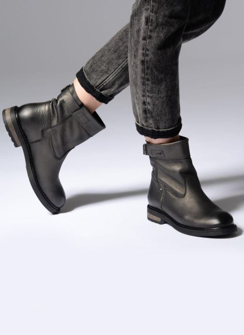 Ankle boots P-L-D-M By Palladium BOTRY DST Bronze and Gold view from underneath / model view