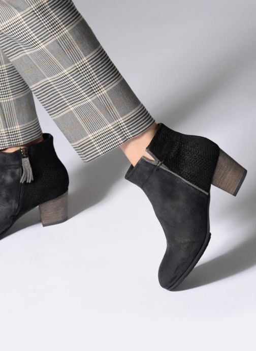 Ankle boots P-L-D-M By Palladium PARLEY SNT Black view from underneath / model view