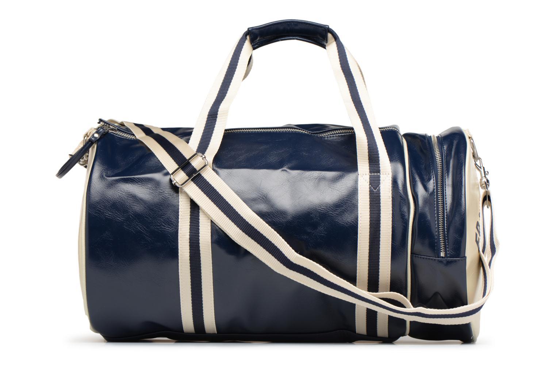 Sporttaschen Fred Perry Classic Barrel Bag V blau ansicht von vorne