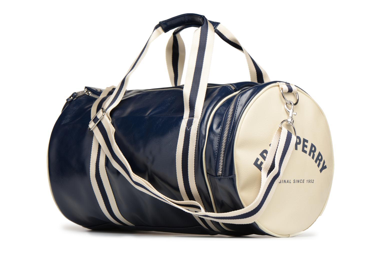 Sporttaschen Fred Perry Classic Barrel Bag V blau ansicht von rechts