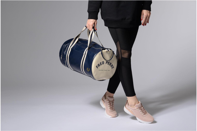Sporttaschen Fred Perry Classic Barrel Bag V blau ansicht von oben