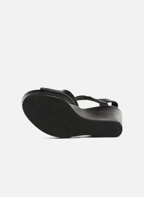 Sandales et nu-pieds Elizabeth Stuart Berny 721 Noir vue haut