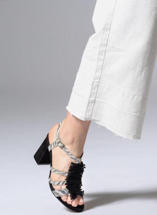 Sandales et nu-pieds Elizabeth Stuart Burem 723 Multicolore vue bas / vue portée sac