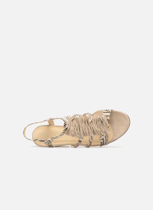 Sandales et nu-pieds Elizabeth Stuart Burem 723 Beige vue gauche
