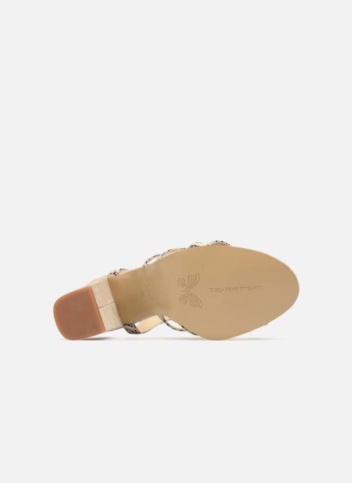 Sandales et nu-pieds Elizabeth Stuart Burem 723 Beige vue haut