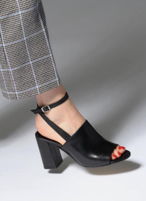 Sandales et nu-pieds Elizabeth Stuart Buz 304 Noir vue bas / vue portée sac