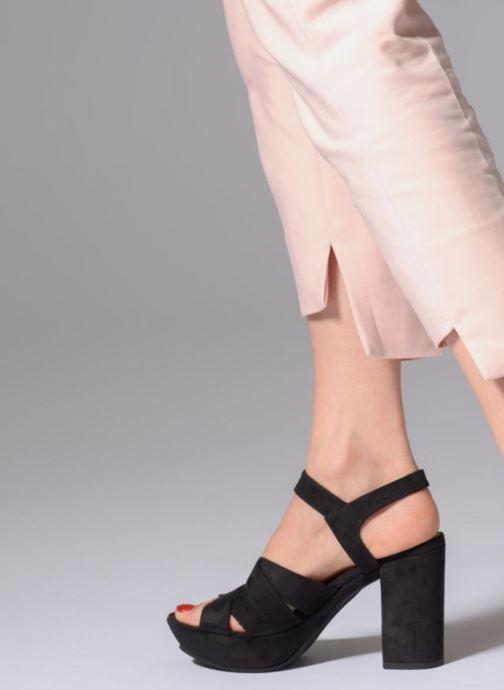Sandales et nu-pieds Elizabeth Stuart Byma 255 Noir vue bas / vue portée sac