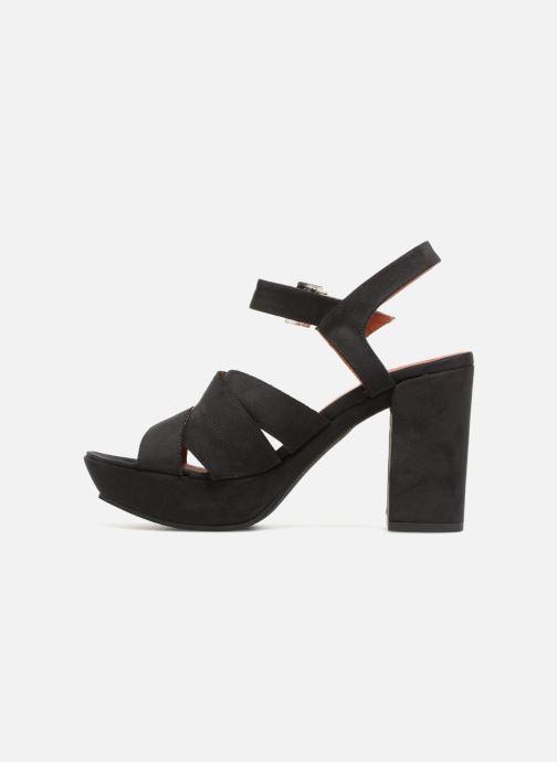 Sandales et nu-pieds Elizabeth Stuart Byma 255 Noir vue face
