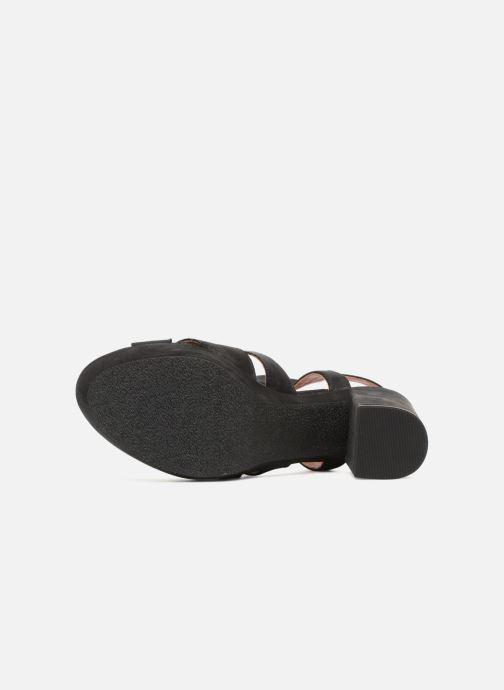 Sandales et nu-pieds Elizabeth Stuart Byma 255 Noir vue haut