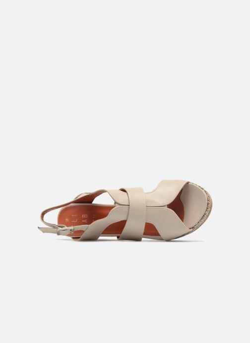 Sandales et nu-pieds Elizabeth Stuart Byr 721 Beige vue gauche