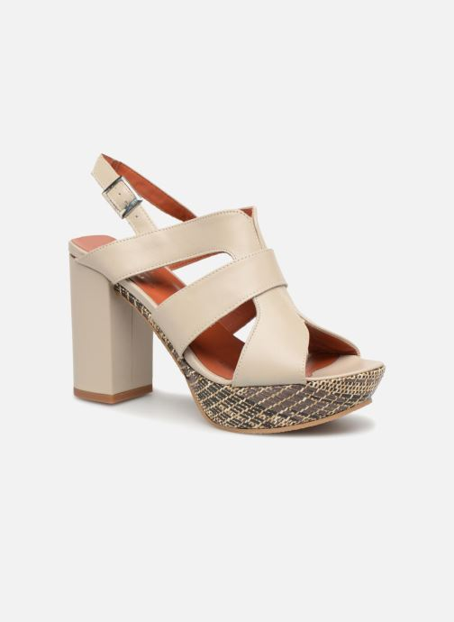 Sandales et nu-pieds Elizabeth Stuart Byr 721 Beige vue détail/paire