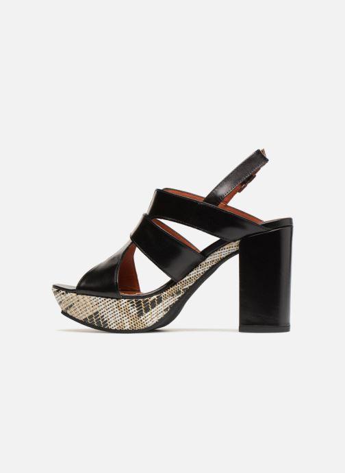 Sandales et nu-pieds Elizabeth Stuart Byr 721 Noir vue face