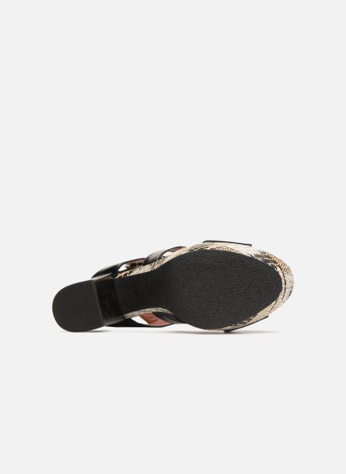Sandales et nu-pieds Elizabeth Stuart Byr 721 Noir vue haut