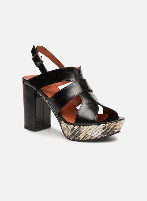 Sandales et nu-pieds Elizabeth Stuart Byr 721 Noir vue détail/paire