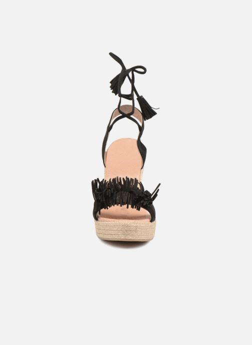Sandales et nu-pieds Elizabeth Stuart Clarice 630 Noir vue portées chaussures