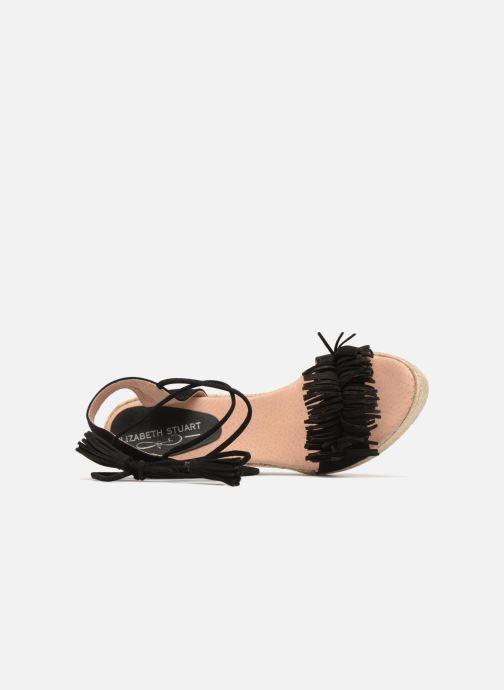 Sandales et nu-pieds Elizabeth Stuart Clarice 630 Noir vue gauche