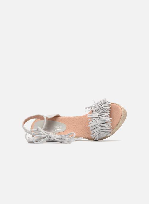 Sandales et nu-pieds Elizabeth Stuart Clarice 630 Gris vue gauche