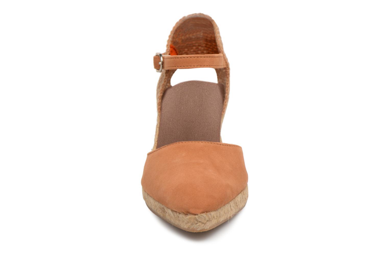 Espadrilles Elizabeth Stuart Edlys 630 Marron vue portées chaussures