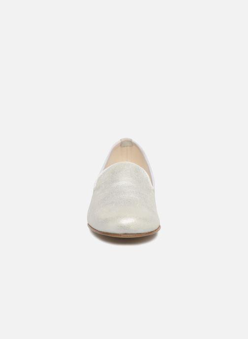 Mocassini Elizabeth Stuart Isabelle 415 Bianco modello indossato