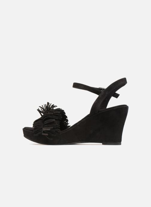 Sandales et nu-pieds Elizabeth Stuart Jany 606 Noir vue face