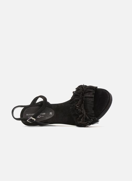 Sandales et nu-pieds Elizabeth Stuart Jany 606 Noir vue gauche