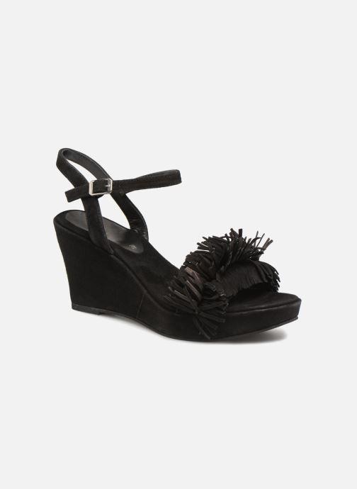 Sandales et nu-pieds Elizabeth Stuart Jany 606 Noir vue détail/paire