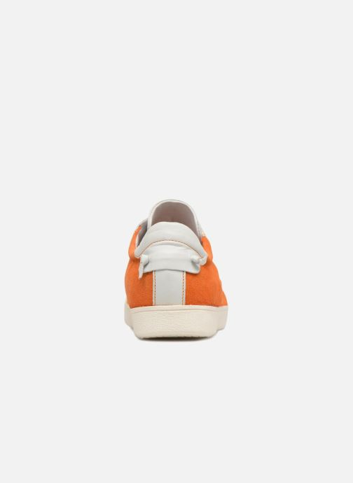 Baskets Elizabeth Stuart Juna 717 Orange vue droite
