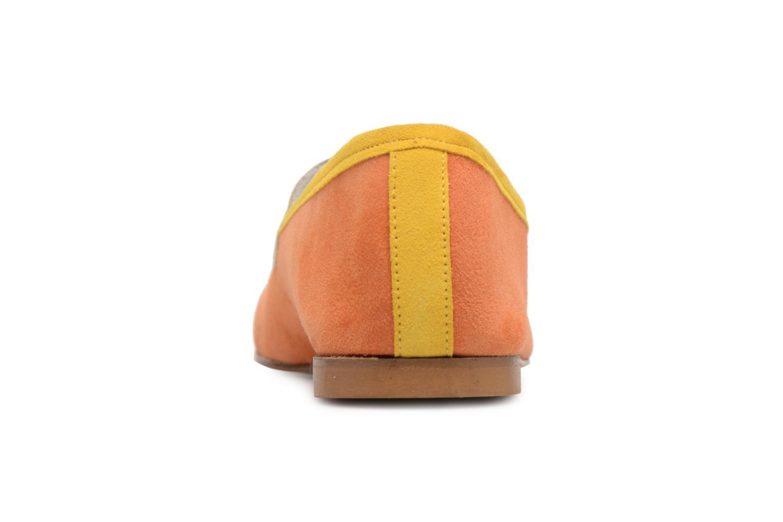 Mocassins Elizabeth Stuart Namo 300/3 Orange vue droite