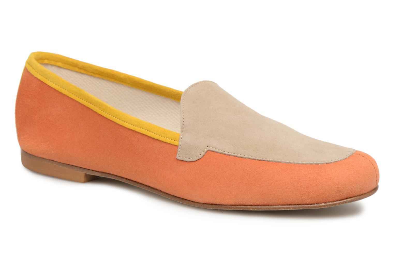 Mocassins Elizabeth Stuart Namo 300/3 Orange vue détail/paire