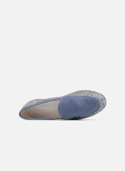 Mocassins Elizabeth Stuart Namo 713 Bleu vue gauche