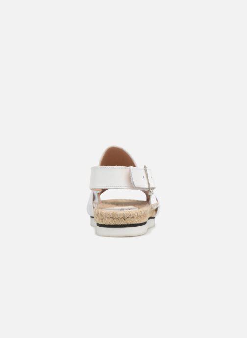 Espadrilles Elizabeth Stuart Samoa 907 Blanc vue droite