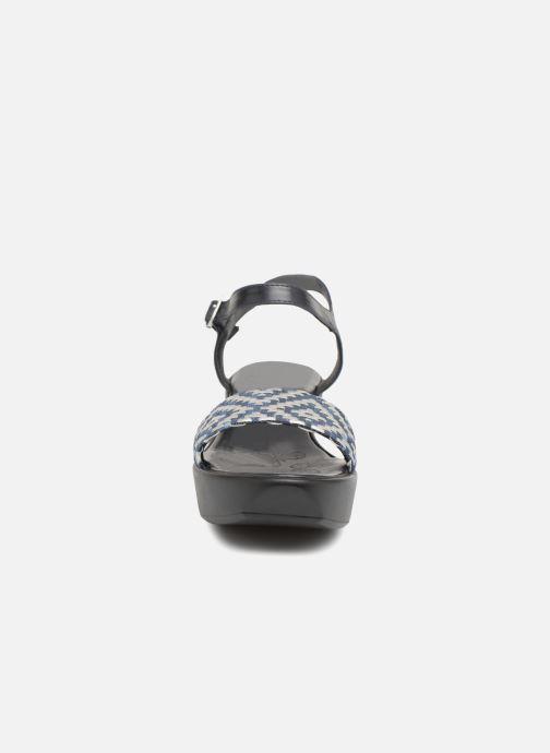 Sandales et nu-pieds Elizabeth Stuart Villau 516 Bleu vue portées chaussures