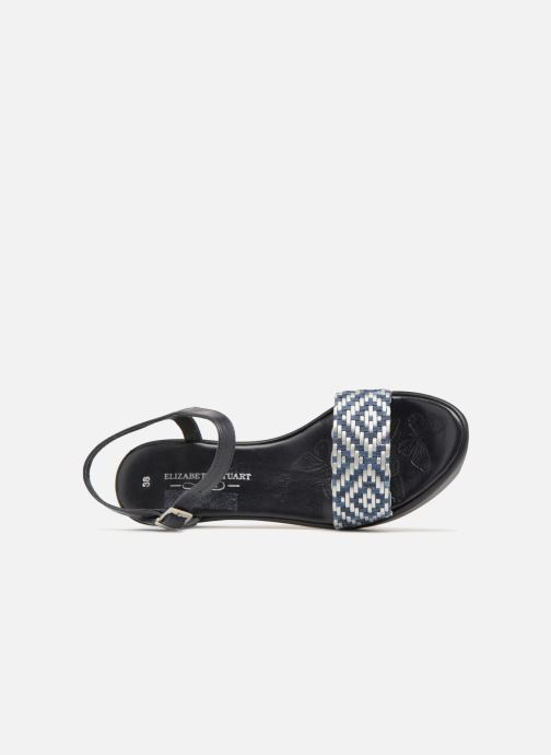 Sandales et nu-pieds Elizabeth Stuart Villau 516 Bleu vue gauche