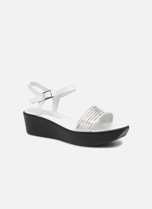 Sandales et nu-pieds Elizabeth Stuart Villau 519 Blanc vue détail/paire