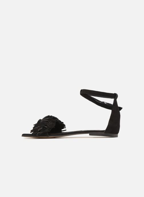 Sandales et nu-pieds Elizabeth Stuart Wlym 606 Noir vue face