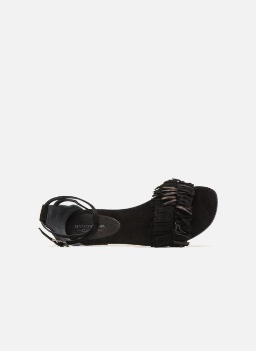 Sandales et nu-pieds Elizabeth Stuart Wlym 606 Noir vue gauche
