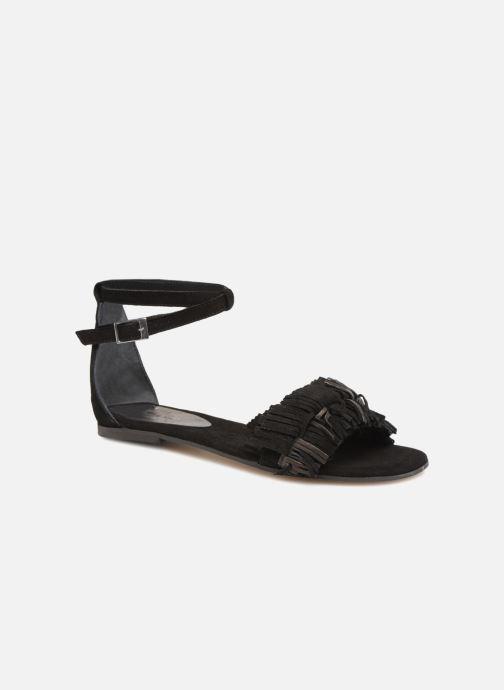 Sandales et nu-pieds Elizabeth Stuart Wlym 606 Noir vue détail/paire