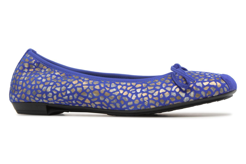 Ballerines Elizabeth Stuart York 310 Bleu vue derrière