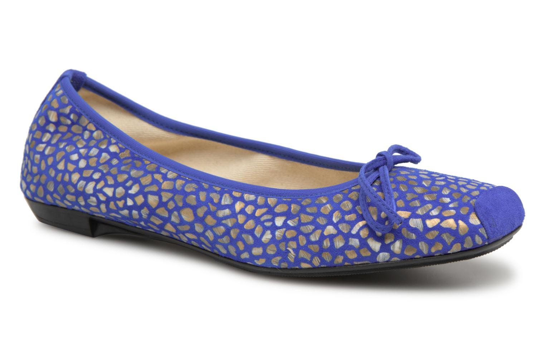 Ballerines Elizabeth Stuart York 310 Bleu vue détail/paire