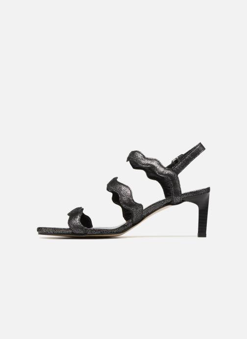 Sandales et nu-pieds Elizabeth Stuart Zola 415 Noir vue face