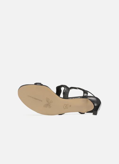 Sandales et nu-pieds Elizabeth Stuart Zola 415 Noir vue haut