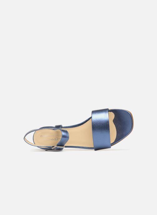 Sandales et nu-pieds Elizabeth Stuart Ambry 417 Bleu vue gauche