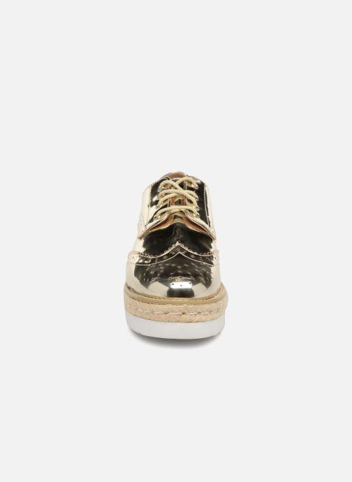 Snøresko MTNG 51785 Guld og bronze se skoene på