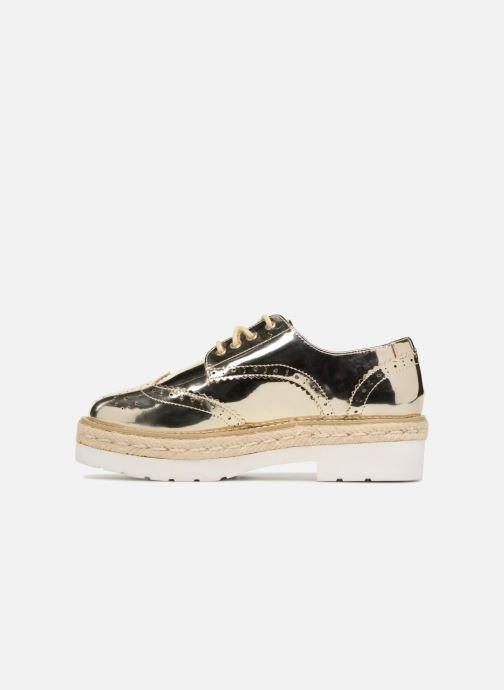 Chaussures à lacets MTNG 51785 Or et bronze vue face