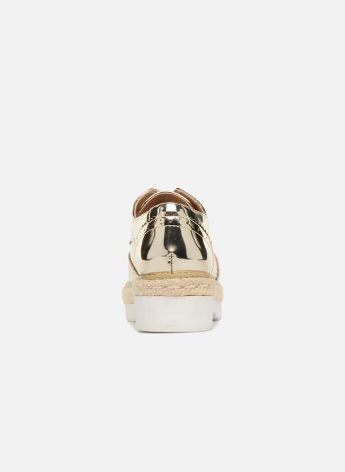 Chaussures à lacets MTNG 51785 Or et bronze vue droite