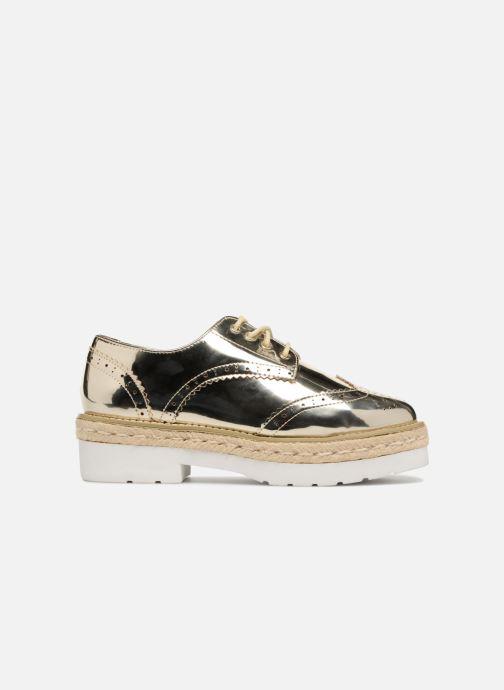 Chaussures à lacets MTNG 51785 Or et bronze vue derrière