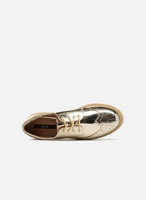 Chaussures à lacets MTNG 51785 Or et bronze vue gauche