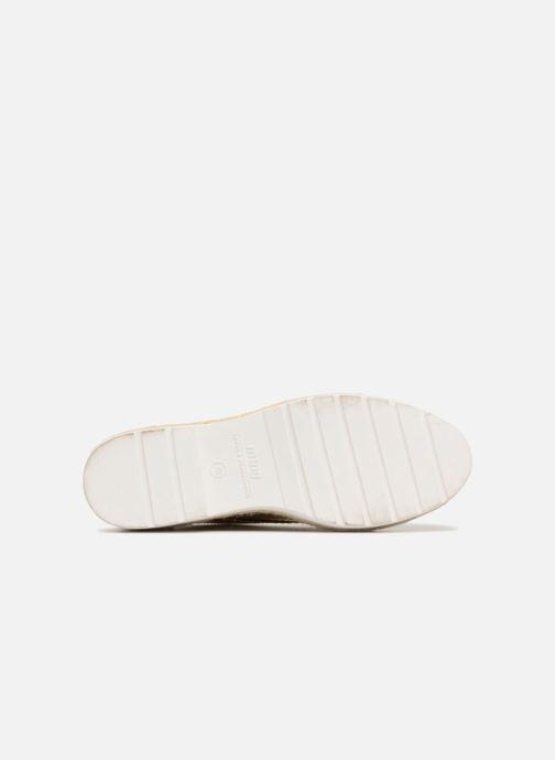 Chaussures à lacets MTNG 51785 Or et bronze vue haut