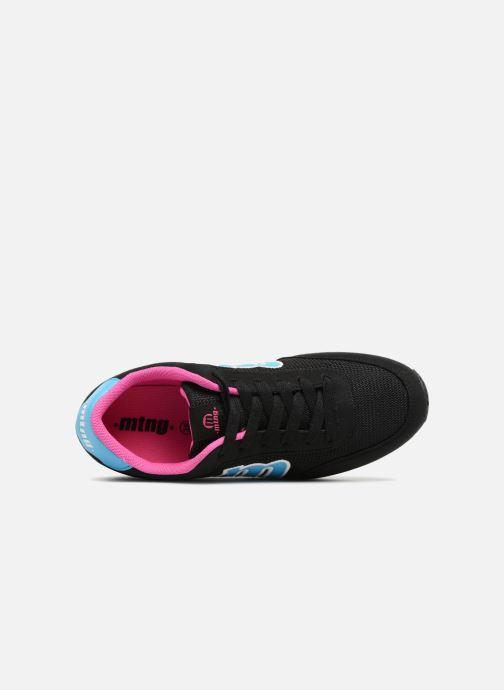 Baskets MTNG 56406 Noir vue gauche