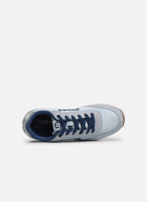 Baskets MTNG 56406 Bleu vue gauche